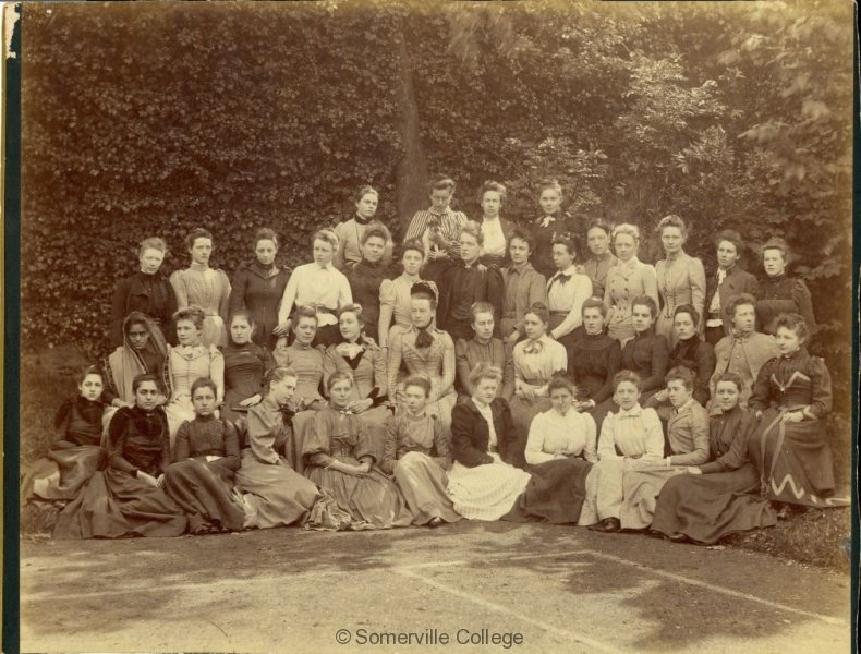 Etudiante du Somerville College, Oxford, 1891 - Photo du Somerville College, Oxford